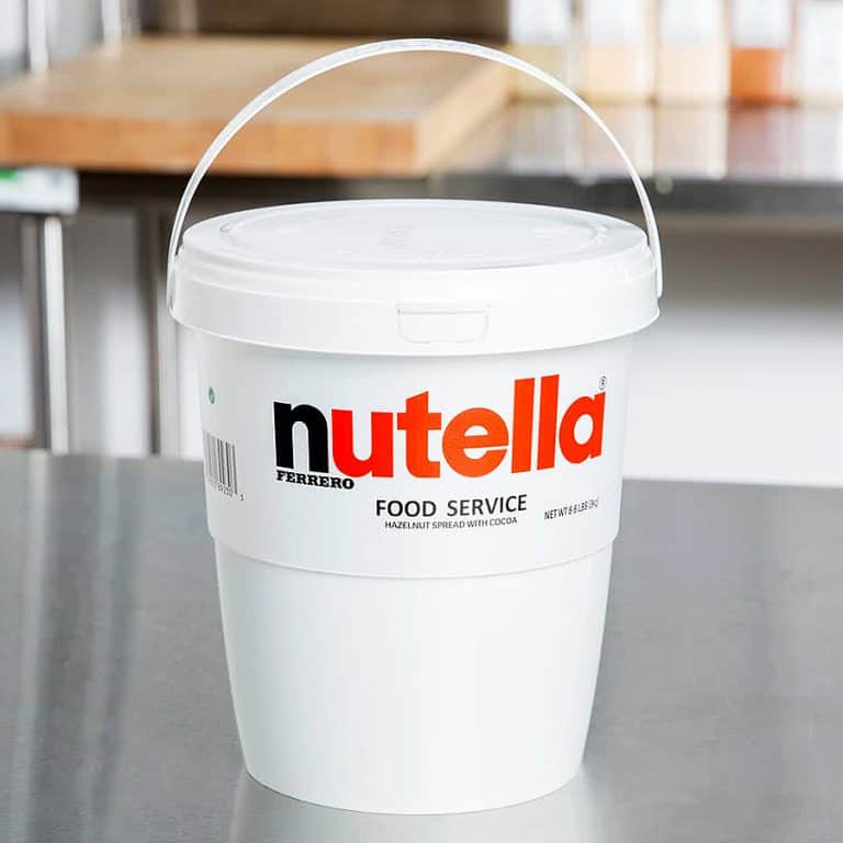 Nutella Hazelnut Spread 6.6 lb. Tub Bucket