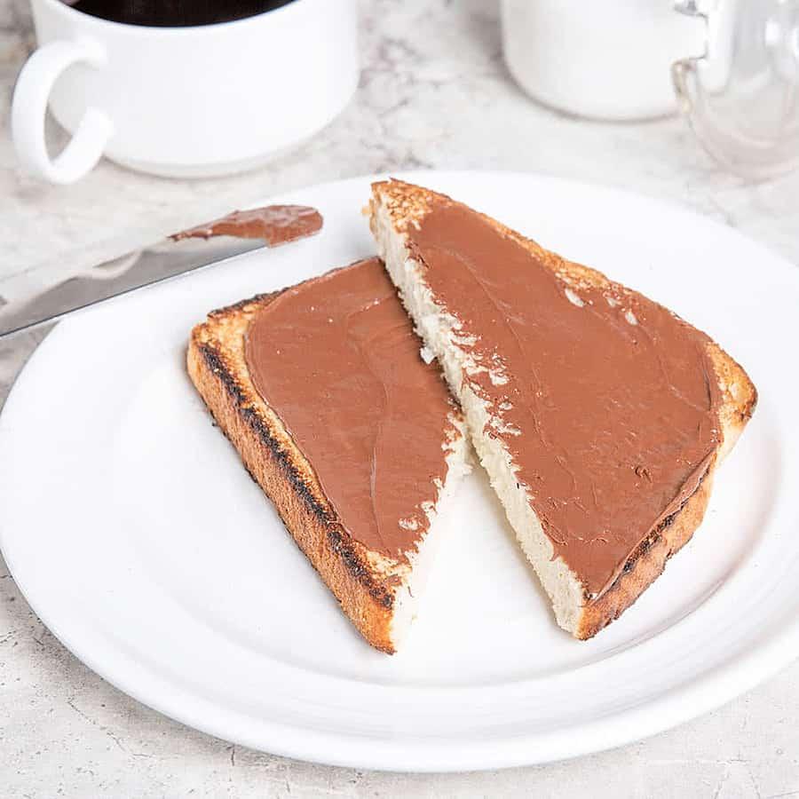 Nutella Hazelnut Spread 6.6 lb. Tub Chocolate