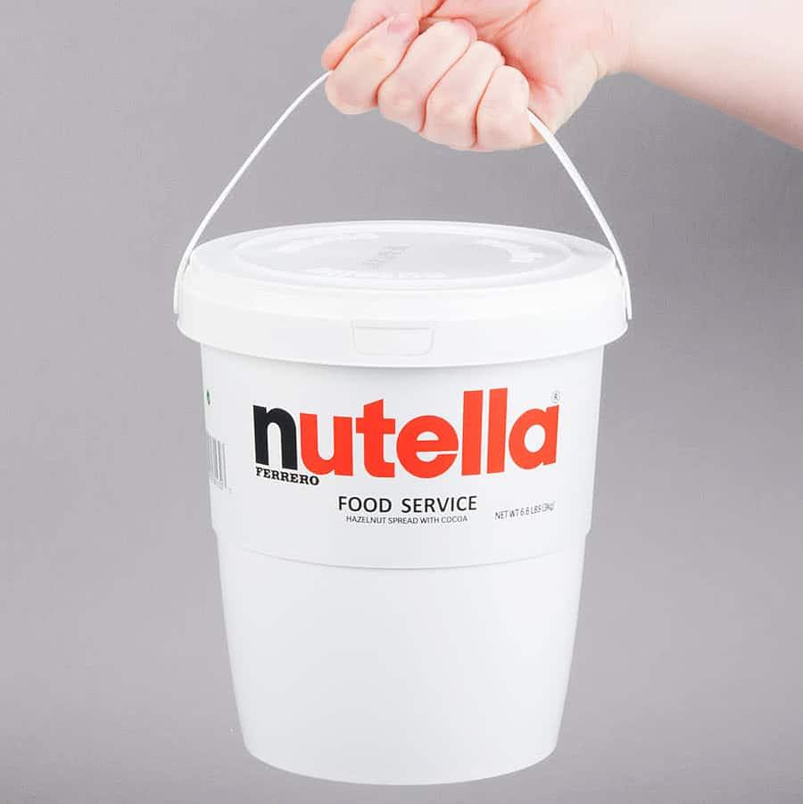 Nutella Hazelnut Spread 6.6 lb. Tub Food