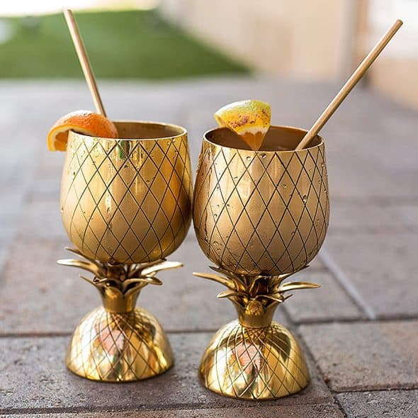 Pineapple Cocktail Mug Drinkware