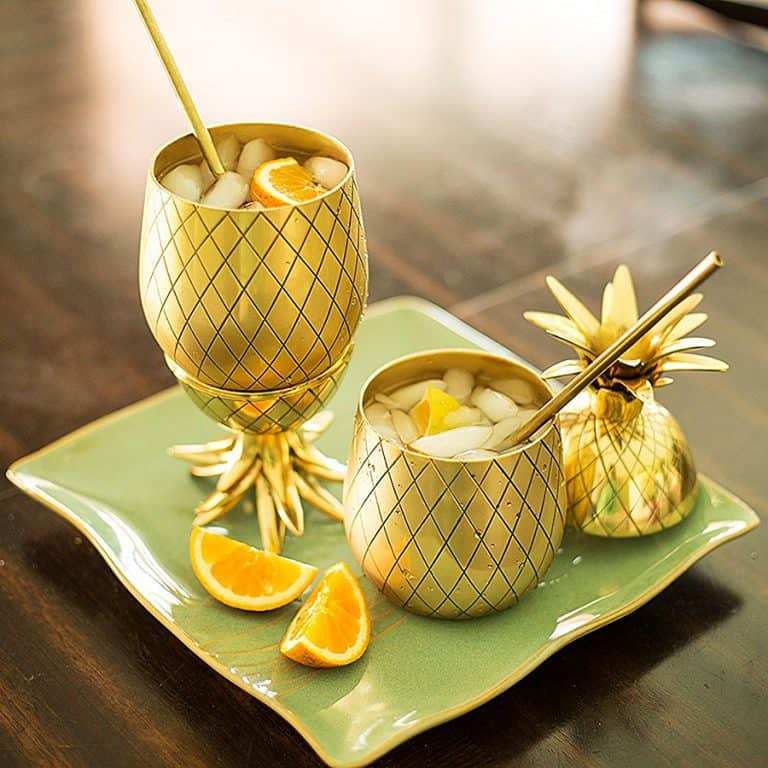 Pineapple Cocktail Mug Handmade Item