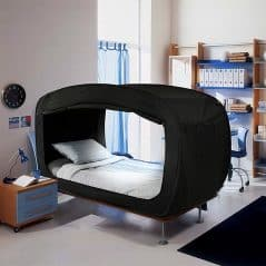 Pop-up your bed's privacy.