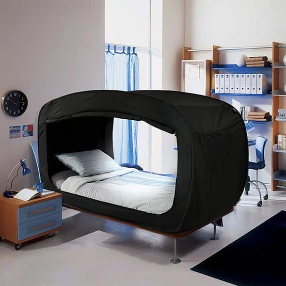Privacy Pop Bed Tent Bedroom