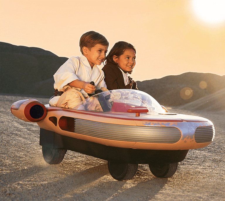 Radio Flyer Star Wars Land Speeder Toys