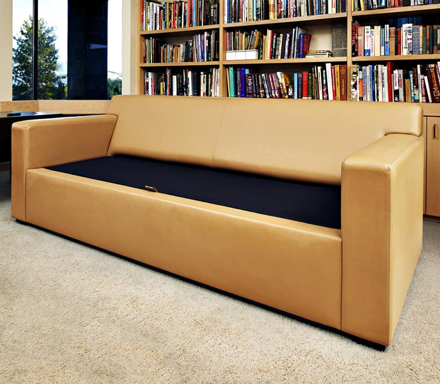 Safety and Security Couch Bunker Safe Storage