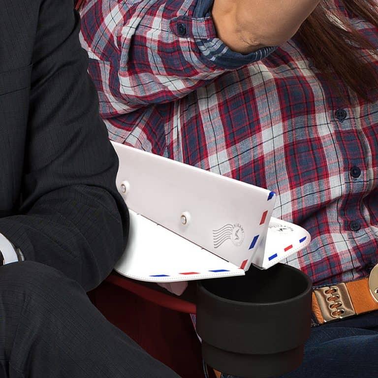 Soarigami Airplane Portable Armrest ExtenderDivider in flight armrest extension