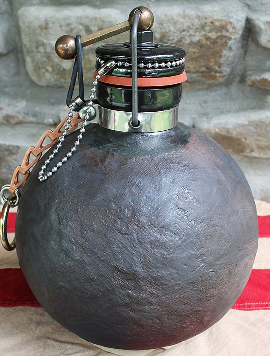 Terracotta Republic Cannonball Beer Growler FDA Approved
