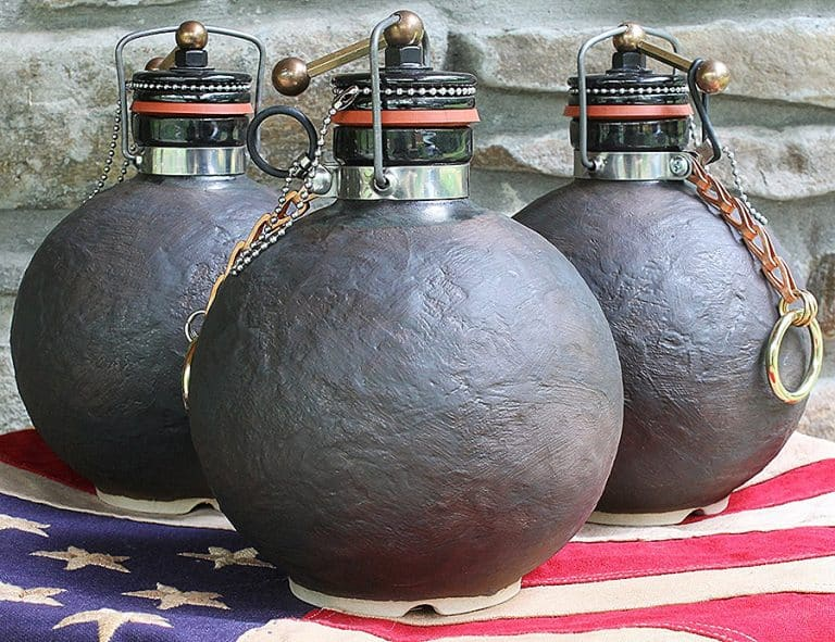 Terracotta Republic Cannonball Beer Growler Stoneware