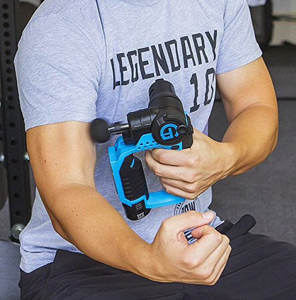 Massage your guns with this gun.
