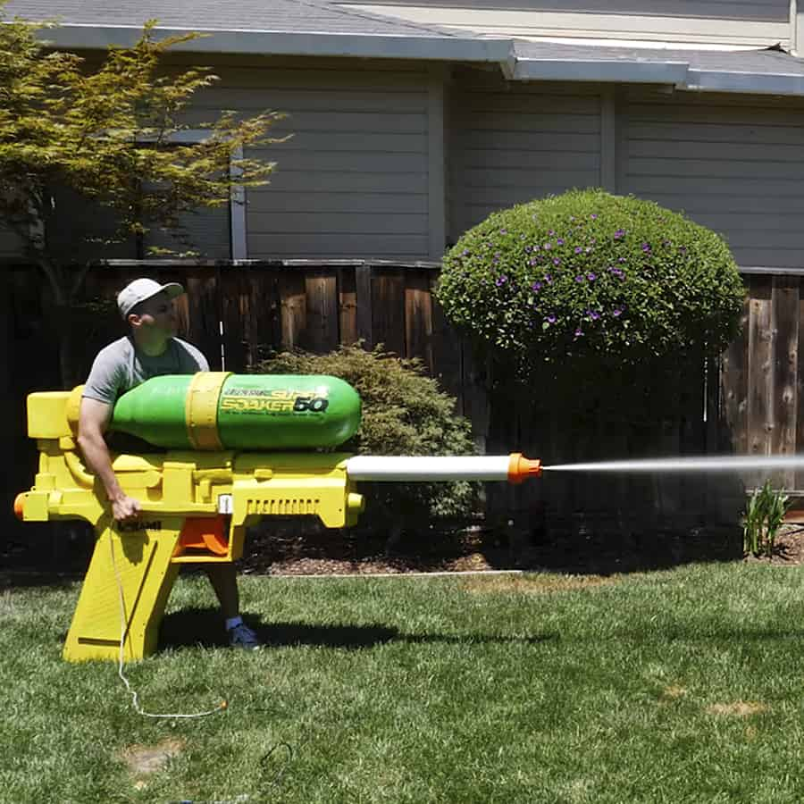 World's Largest Super Soaker by Mark Rober Novelty