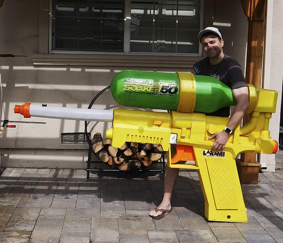 World's Largest Super Soaker by Mark Rober Toy