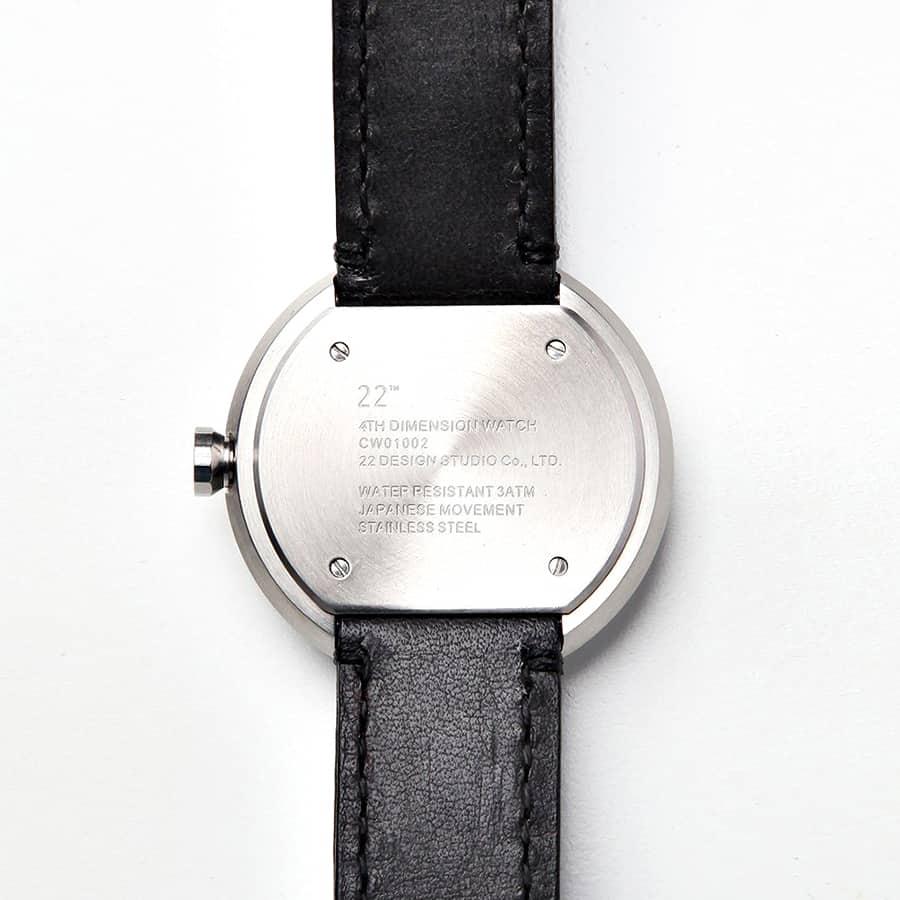 22 Design Studio 4th Dimension Watch Leather