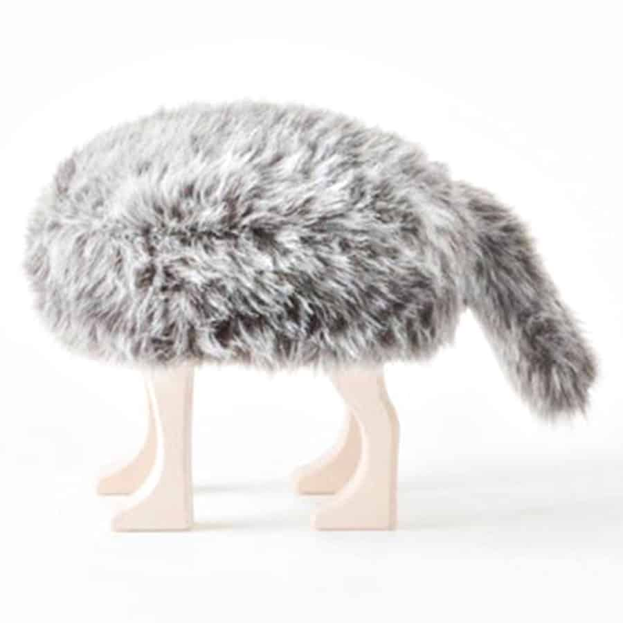 Animal Stool with Tail Chair