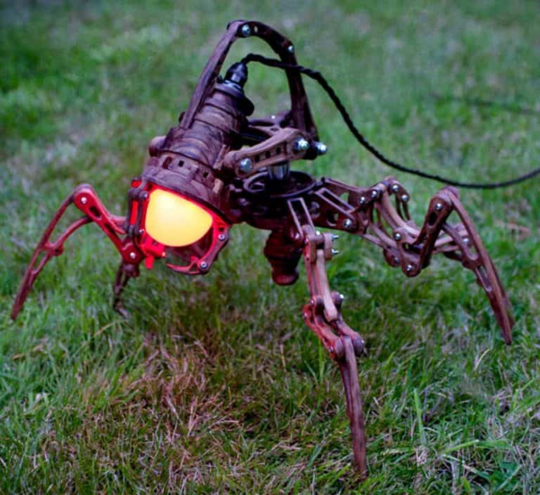 Artype Steampunk Robot Lamp ED-X01 Lightings