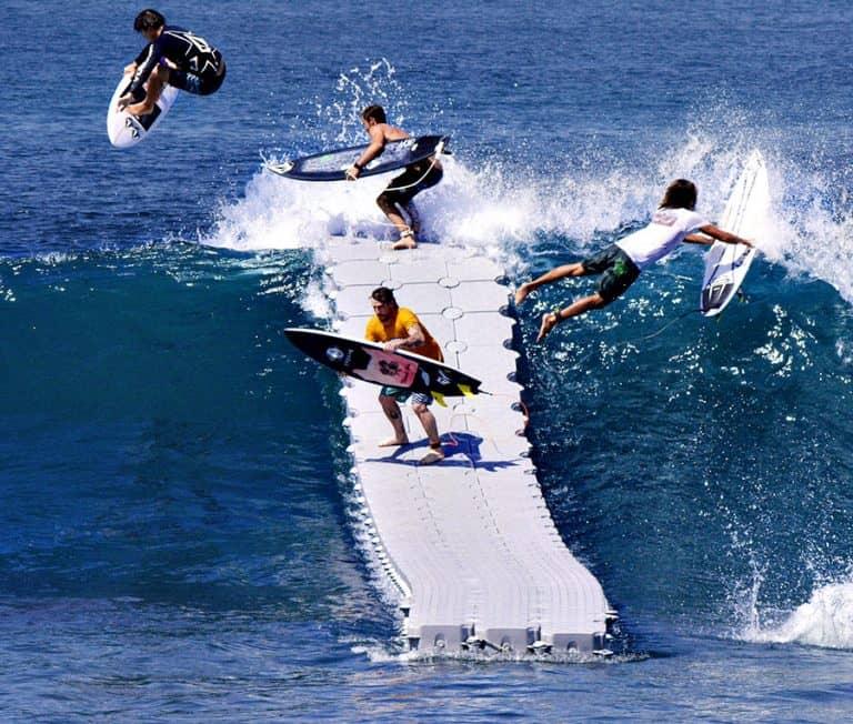 Candock Modular Floating Dock System Extreme Sport