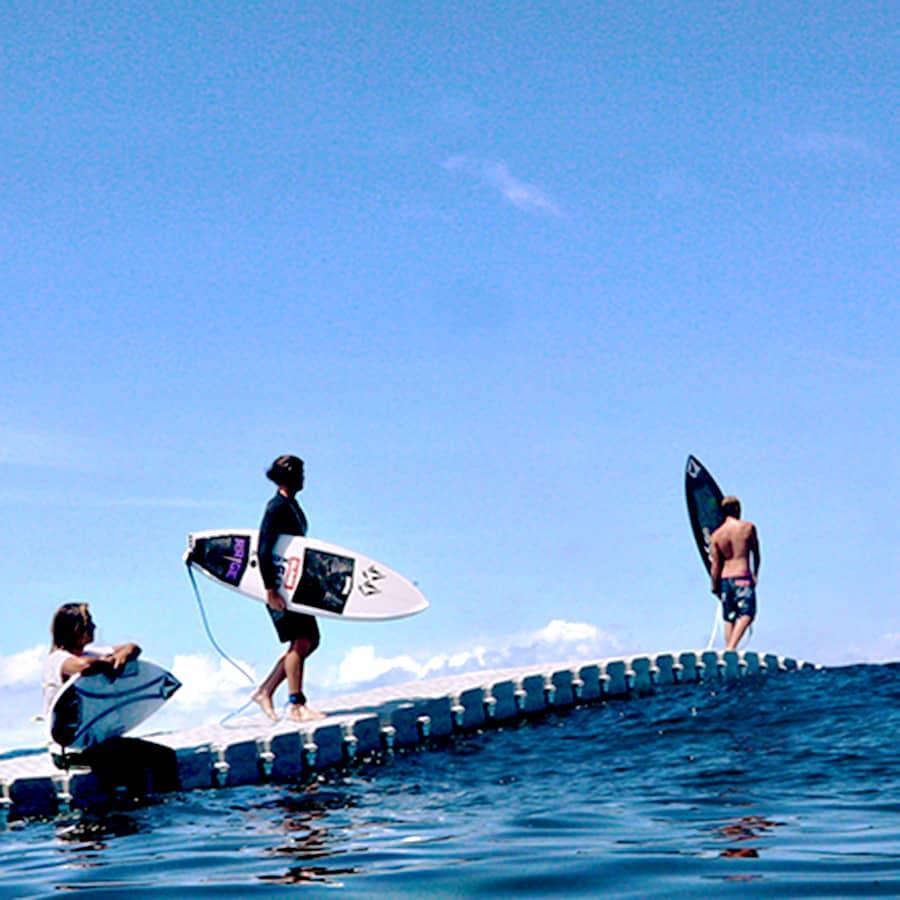 Candock Modular Floating Dock System Surf