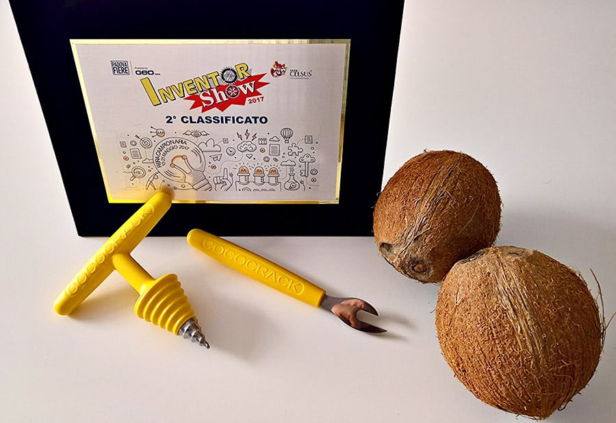 Cococrack Coconut Opener and Cutter Innovative Product