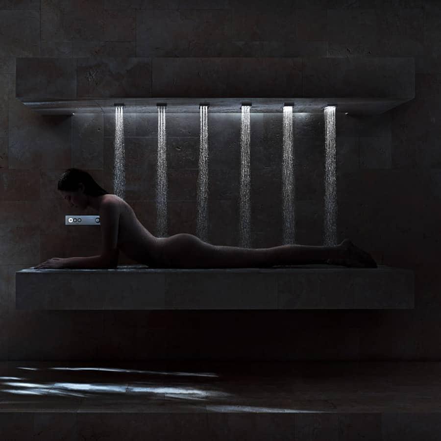 Dorn Bracht Horizontal Shower Bathroom Product