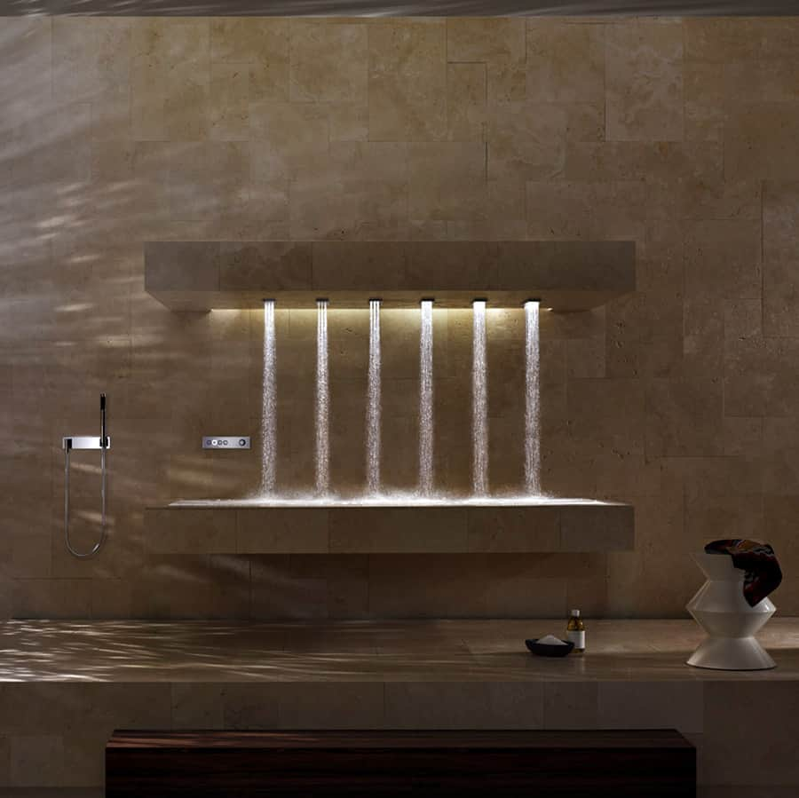 Dorn Bracht Horizontal Shower Home Improvement