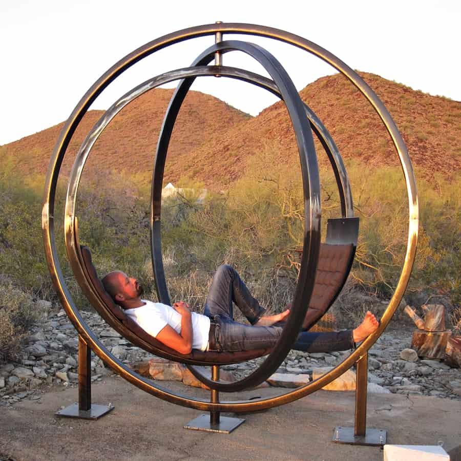 Etazin Interactive Outdoor Lounge Chair Bench