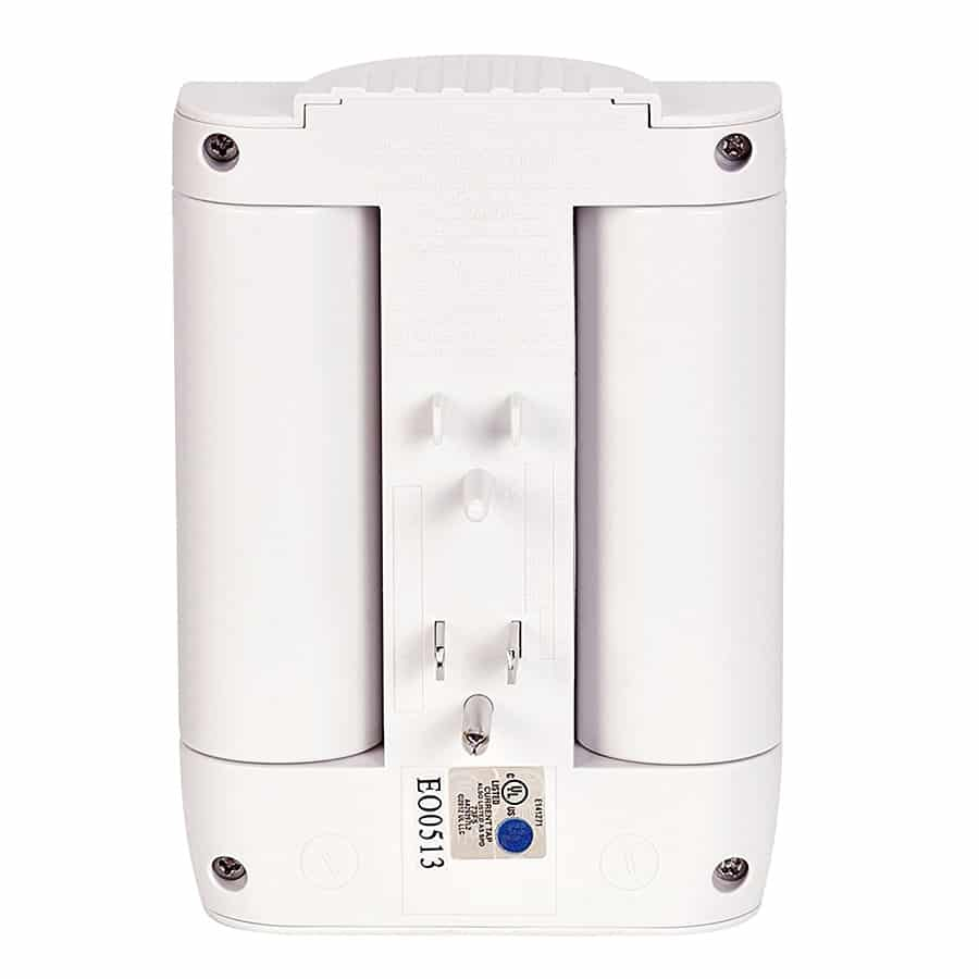Globe Electric 6 Outlet Swivel Surge Protector Wall Tap Multi Outlet