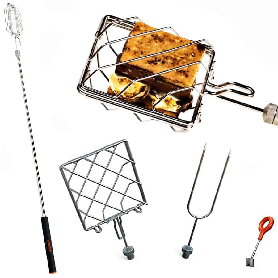 Grubstick Telescopic Roasting Stick Cooking Tool