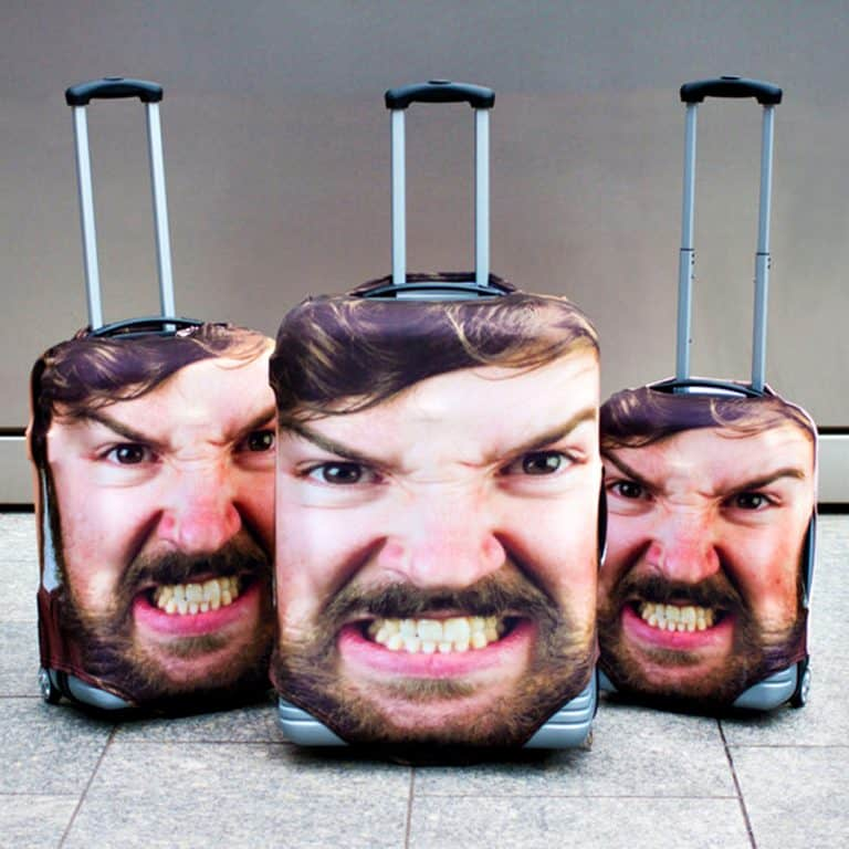 Head Case Luggage Cover Accessory
