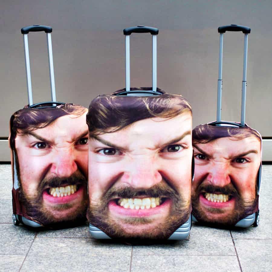 Head Case Luggage Cover Accessory