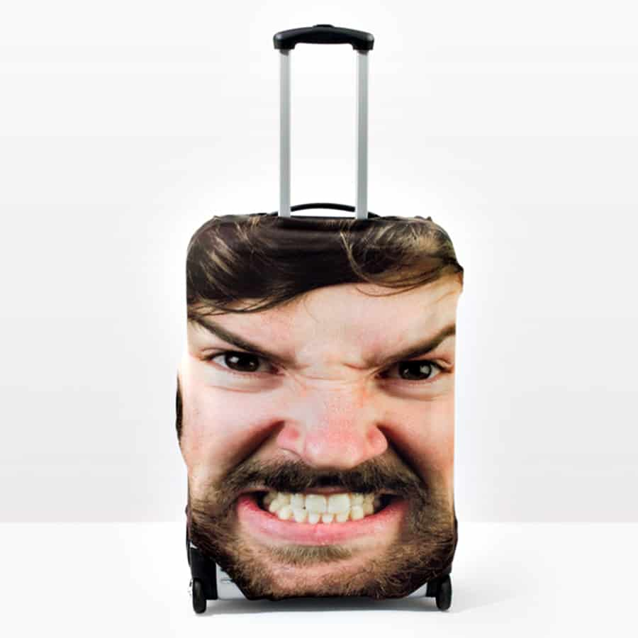 Head Case Luggage Cover Personalized