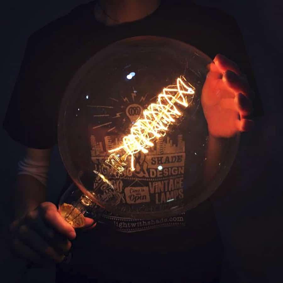 Light it up Edison style.