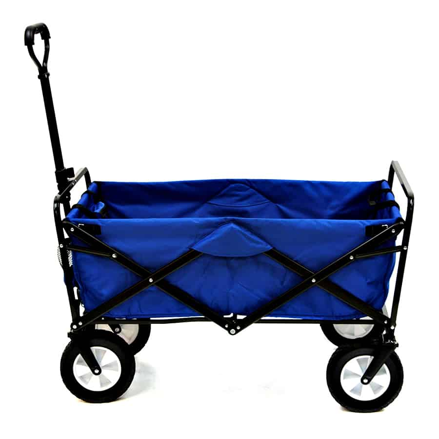 Mac Sports Collapsible Folding Outdoor Utility Wagon Cart