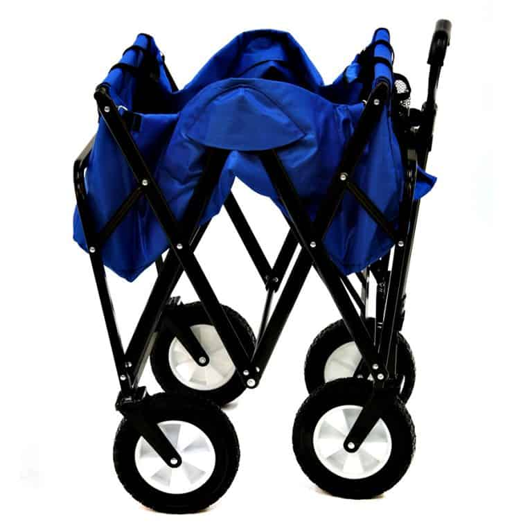Mac Sports Collapsible Folding Outdoor Utility Wagon Equipment