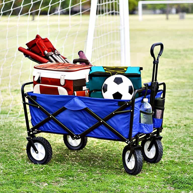 Mac Sports Collapsible Folding Outdoor Utility Wagon Storage
