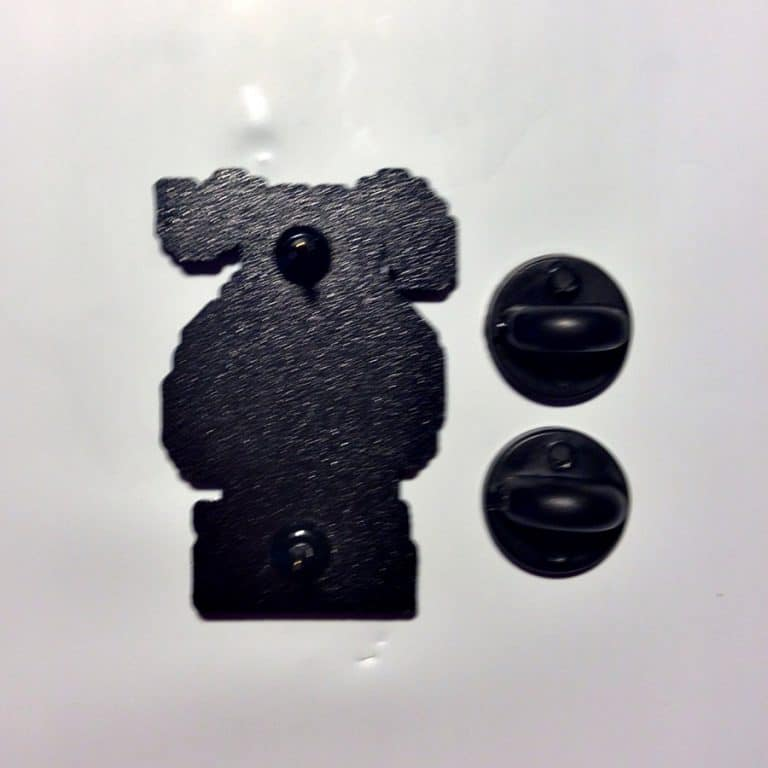 Meet Your Marker Duck Hunt Shoot the Laughing Dog Lapel Pin Accessory