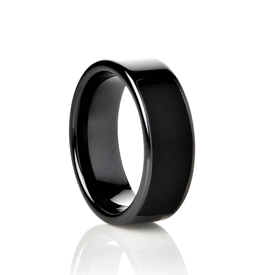 NFC Ring Ceramic Eclipse Smart Ring Jewelry