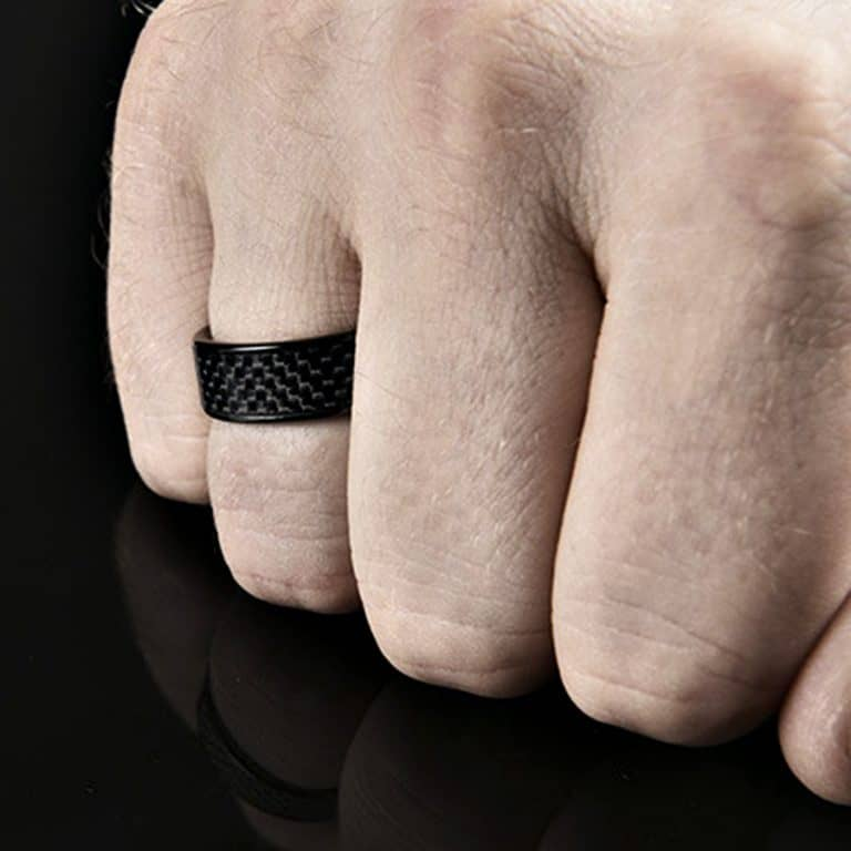 NFC Ring Ceramic Eclipse Smart Ring Programmable Ring