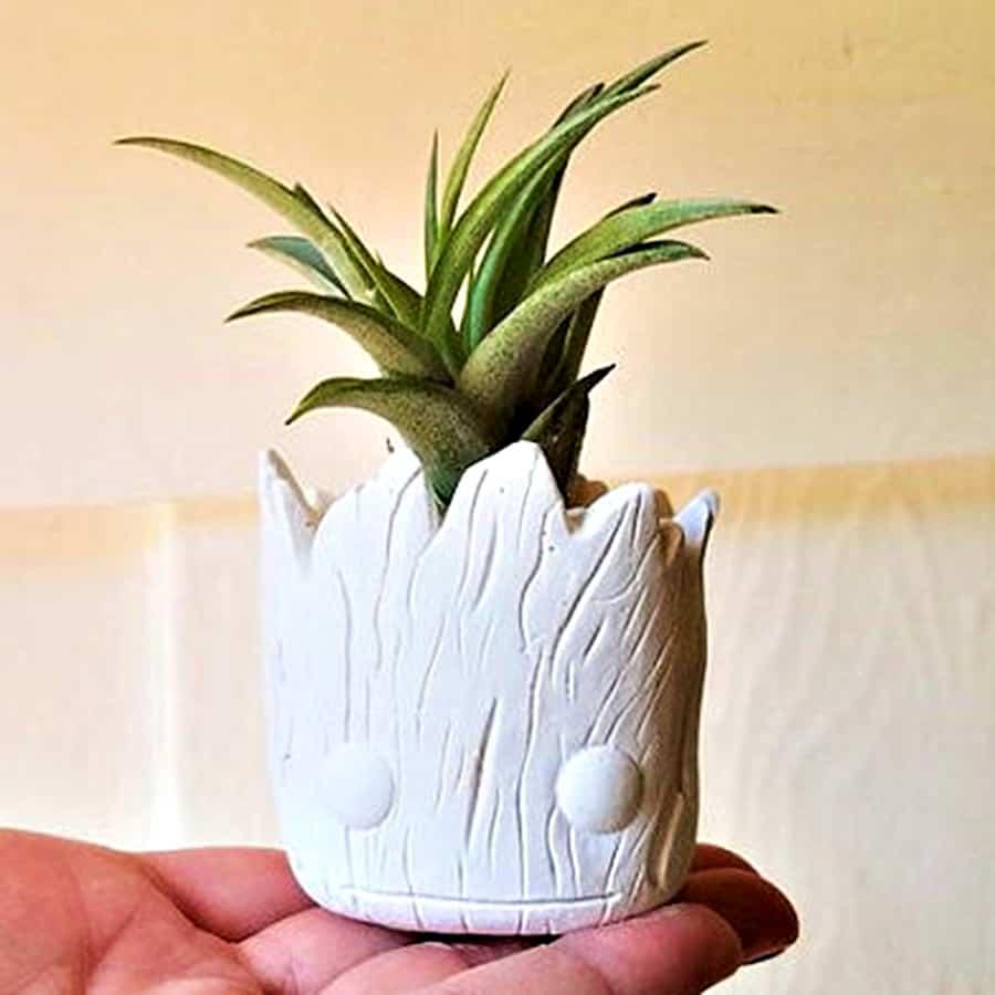 Redwood Stoneworks Baby Groot Inspired Planter Plant Holder