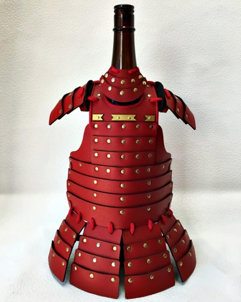 Samurai Age Samurai Pet Armor Outfit