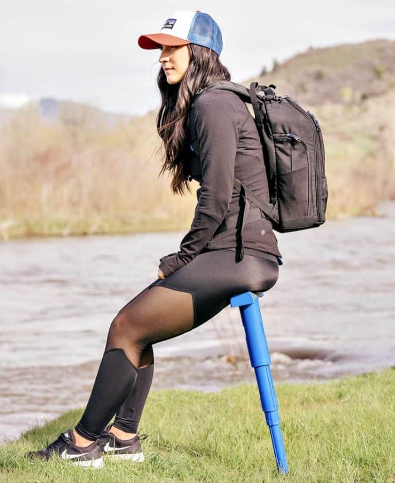 SitGo Portable Travel Stool Expandable Stool