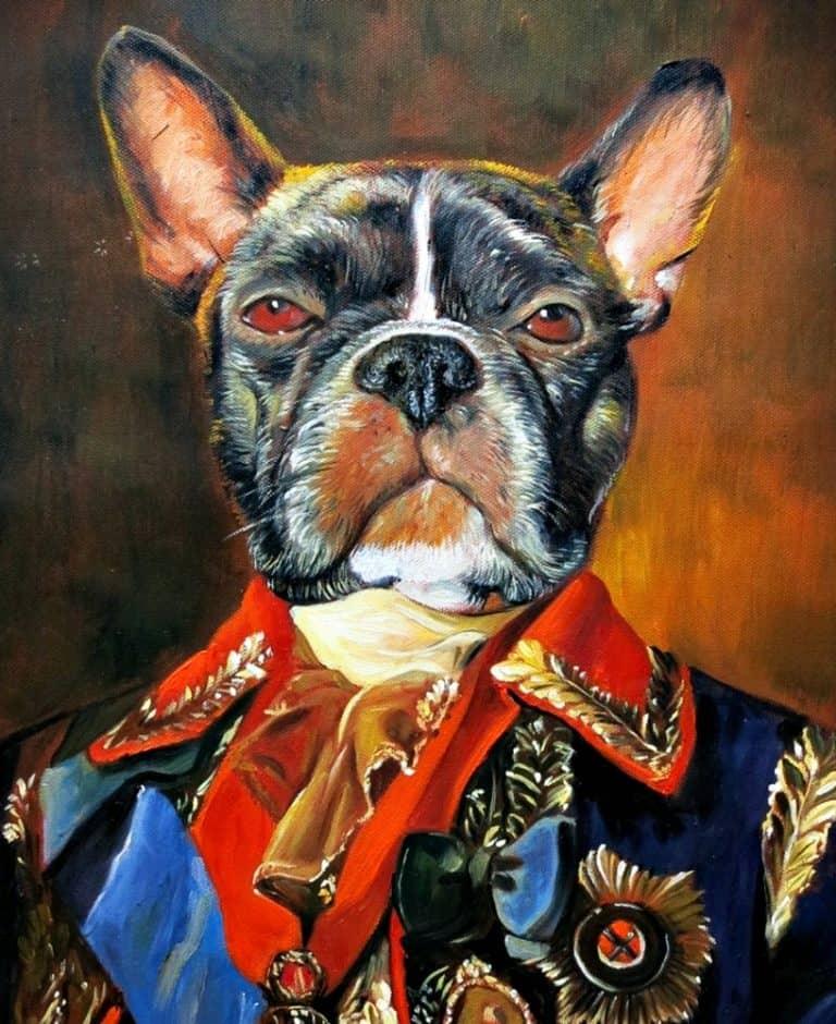 Splendid Beast Custom Pet Portrait Display