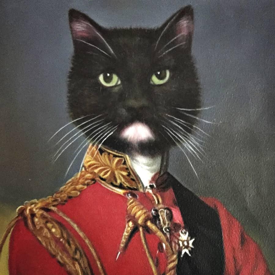 Splendid Beast Custom Pet Portrait Oil Paintings