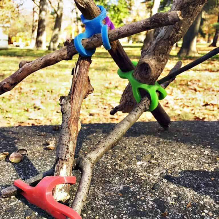 Stick-lets Flexible Silicone Connectors Building Toys
