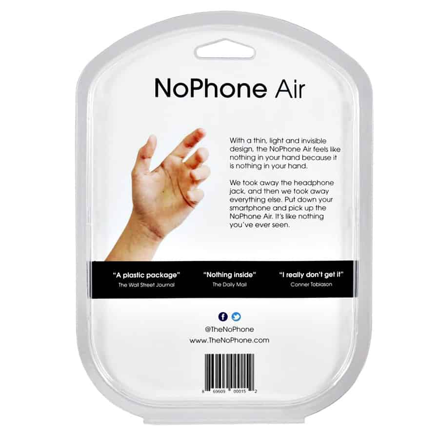 The NoPhone Air Distraction Free Device