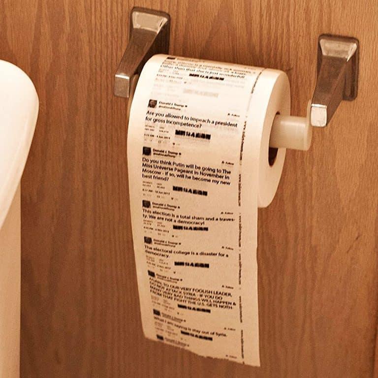Toilet Tweets Donald Trump Classic Tweets Toilet Paper Tissue