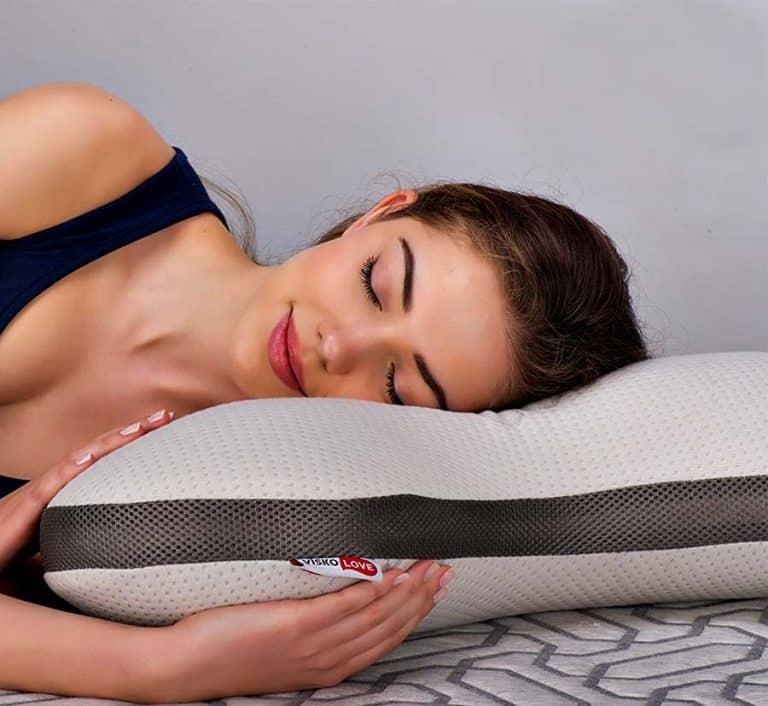 Visco Love Celliant Boomerang Memory Foam Pillow Sleeping Item