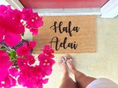 WithLoveAndLuxe Custom Door Mat  – Cool Front Door Mats