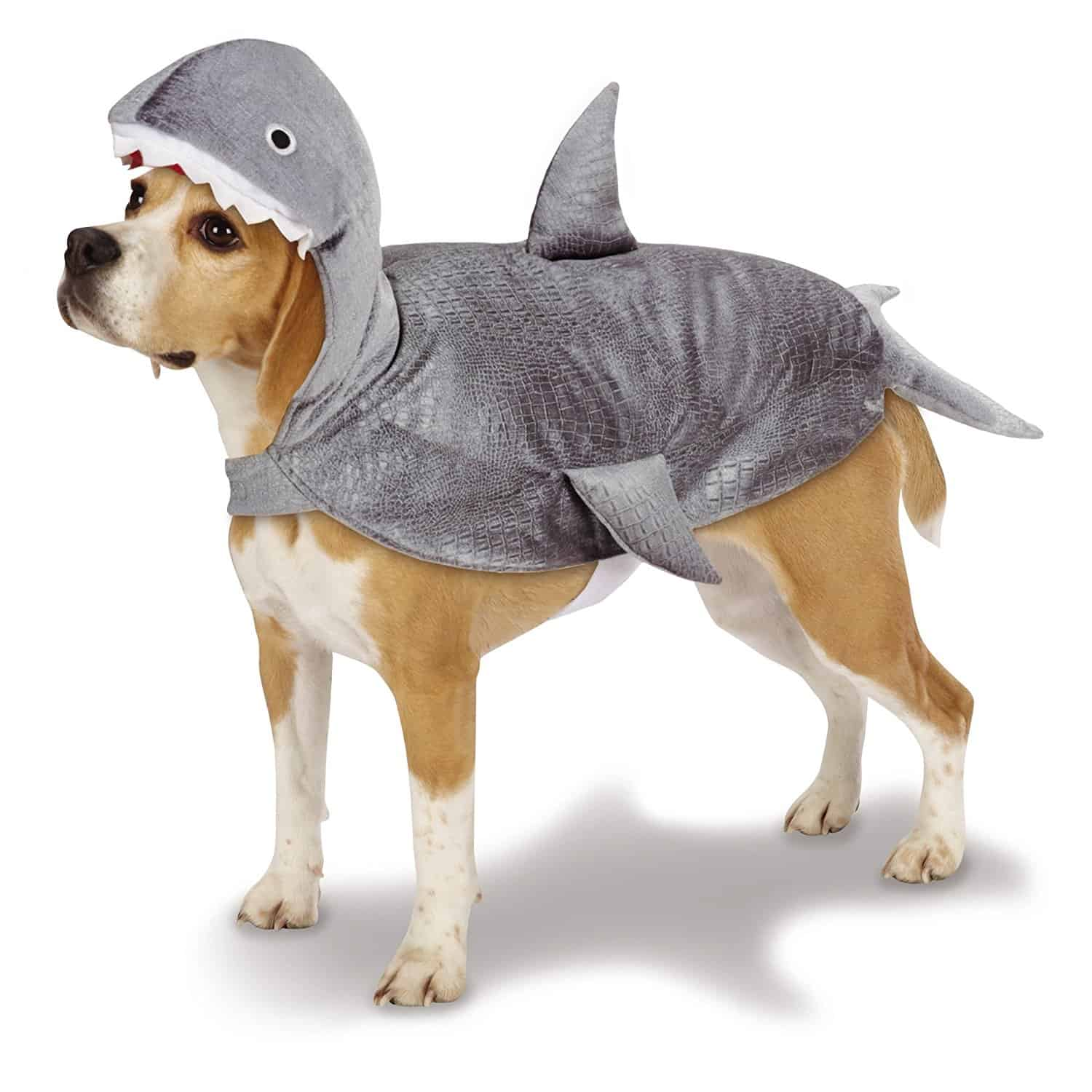 Cute Gray Shark Dog Costume