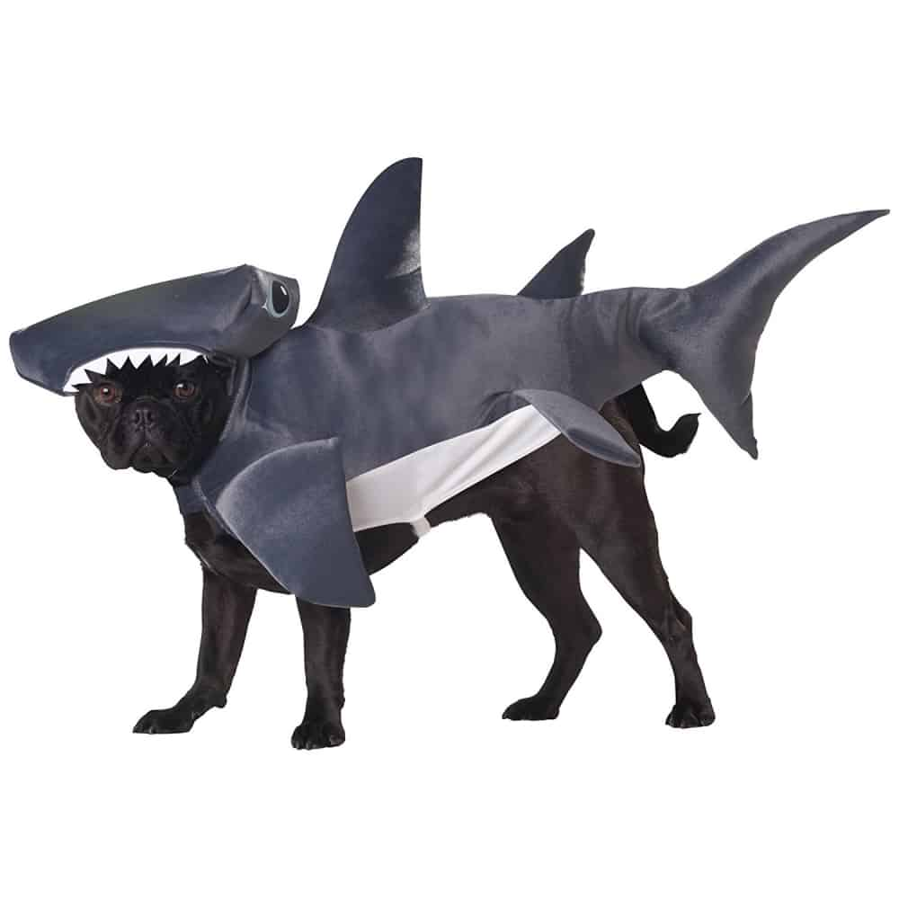 Cute Hammerhead Shark Dog Costume