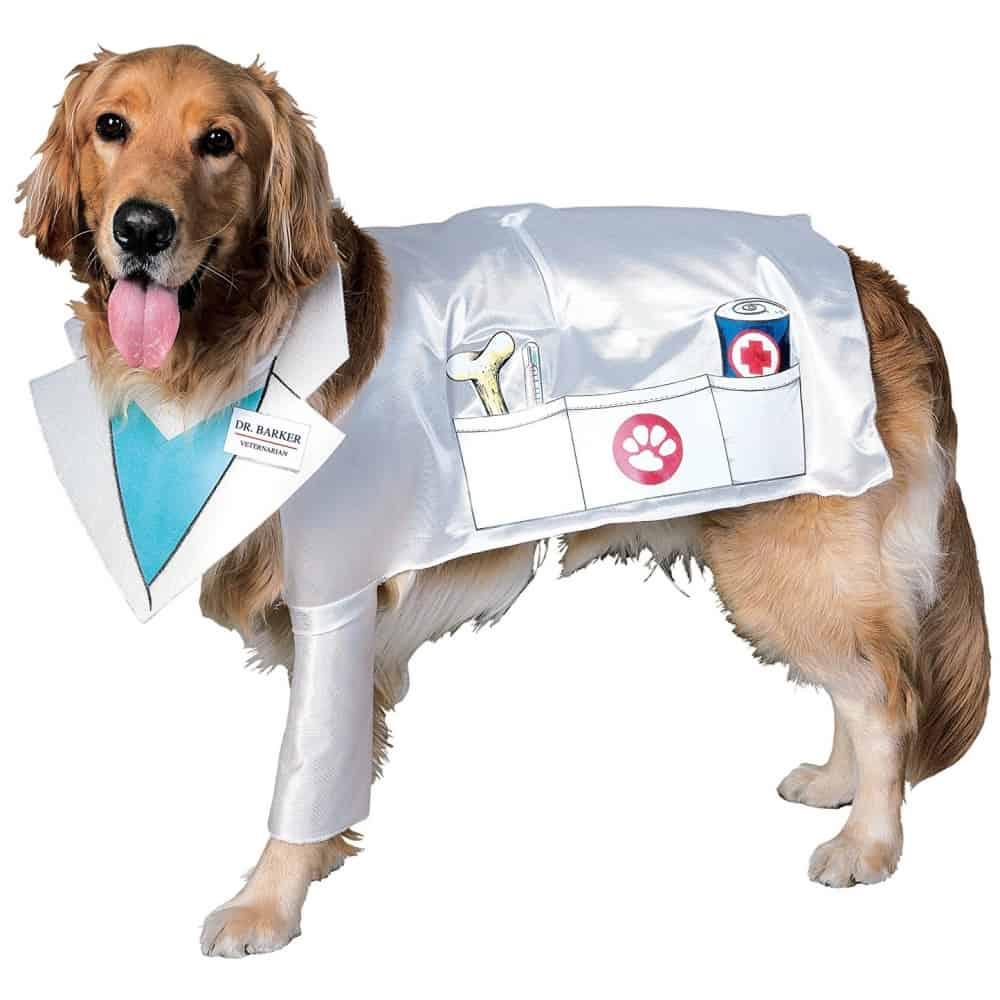 Doctor Dog Costume