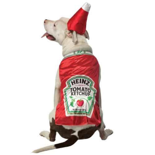 Heinz Ketchup Dog Costume